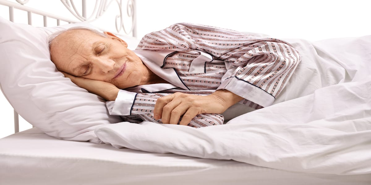 Seniors get better sleep with these helpful tips