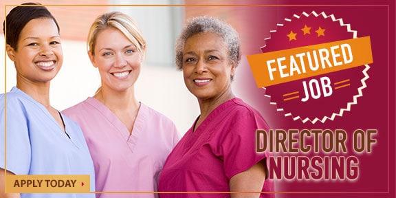 Featured Job Banner - Director of Nursing