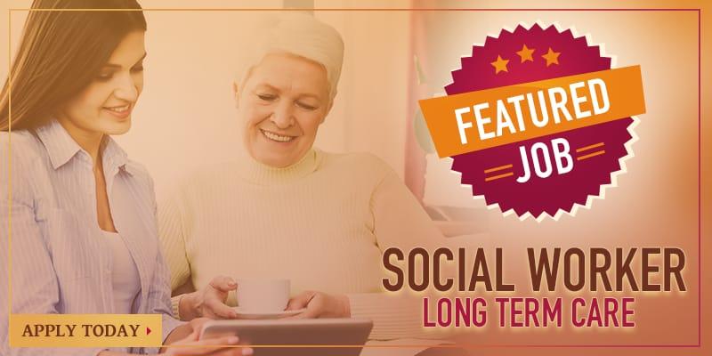 Featured Job - Social Worker